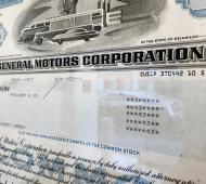 stock cert general motors Cotterell 17